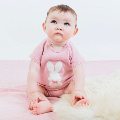 Bunny Knitted Top & Bloomer P